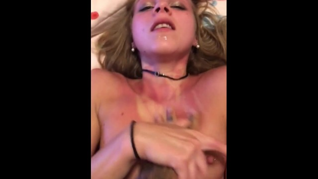Fucking my Roommates GF in the Ass till she Gets Body Shaking Orgasm